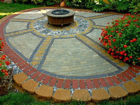 Can You Paint Patio Pavers by Wow Thats A Busy Garden Creating A Paver And Pebble
