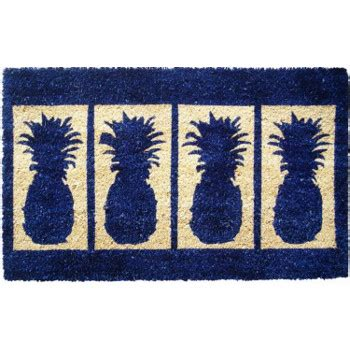 Fiber Doormat by Four Pineapples Thick Woven Coconut Fiber