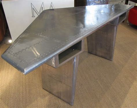 used aviator wing desk for sale desks designed with modern look and industrial styling