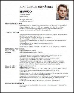Modelo Curriculum Vitae Ventas Ejemplo Curriculum Vitae Representante De Ventas Livecareer