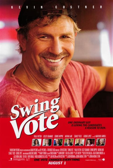 kevin costner swing vote swing vote posters from poster shop