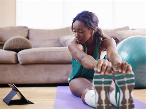 work out at home with these fitness programs