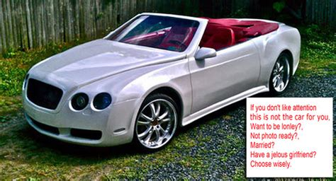 bentley replica sebring carscoops chrysler sebring posts