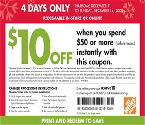 home depot coupons 3 available coupon