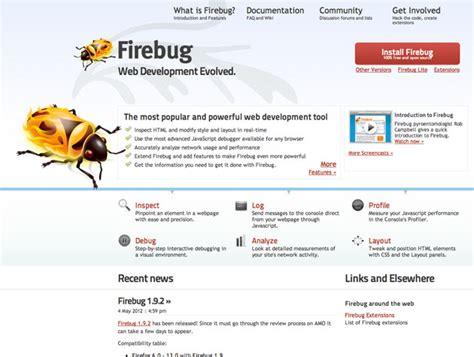 tutorial debug javascript with firebug firebug best web design tools