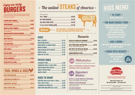 menu design glasgow steak cattle roll glasgow glasgow restaurant reviews