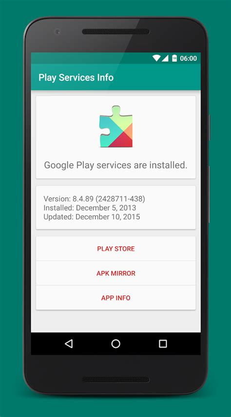 Play Store And Play Services Apk Play Services Info Android Apps On Play