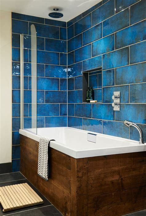 blue tile bathroom ideas bathroom kitchen update existing designer magazine design