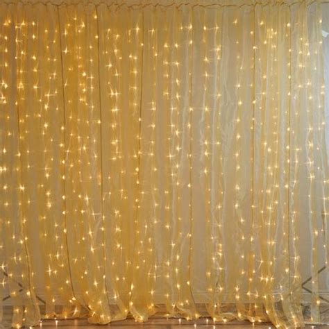 wedding light curtain backdrop 600 sequential gold led lights big wedding party