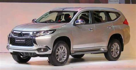 mitsubishi pajero sport 2018 2018 2019 mitsubishi pajero sport premiere of the new