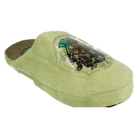 ninja turtle house shoes boys teenage mutant ninja turtles slippers ebay