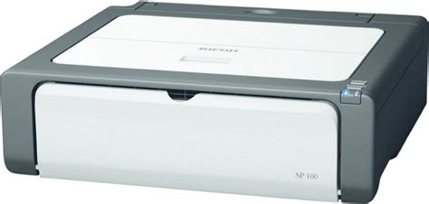 Printer Laser Ricoh Sp 100 ricoh aficio sp 100 black white l price in time tech egprices