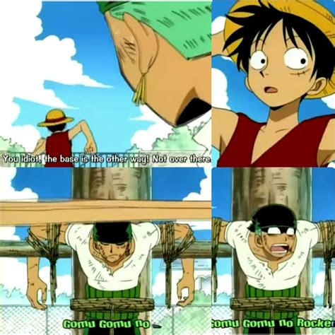 One Piece Kink Meme - luffy zoro one piece funny text quote photo collages