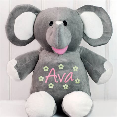 personalised soft toy by simply colors