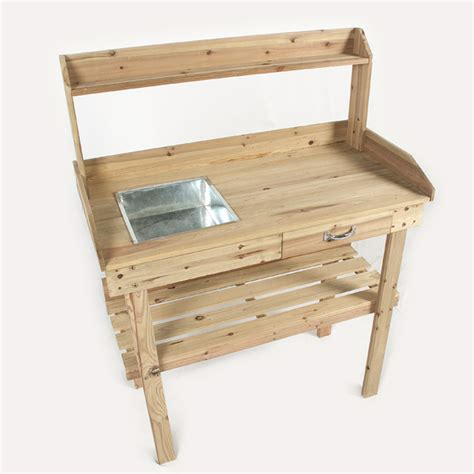 potting bench uk potting bench uk ellister potting table with top shelf on sale fast pflanztische