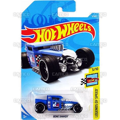 Hotwheels Bone Shaker 2018 Biru custom 67 pontiac firebird 335 zamac 2017 wheels basic q assortment camco toys