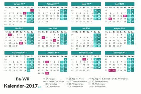 Kalender 2018 Feiertage Ferien Bw Feiertage Baden W 252 Rttemberg 2017