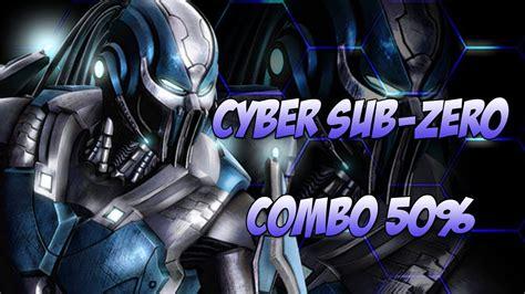 Lemari Es Sub Zero mortal kombat 9 como fazer combo de 50 cyber sub