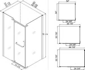 doorless shower dimensions studio design gallery
