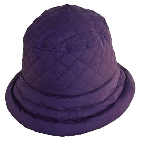 womens quilted waterproof hat by dorfman