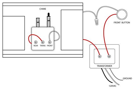 wiring diagram for doorbell with 2 chimes 41 wiring