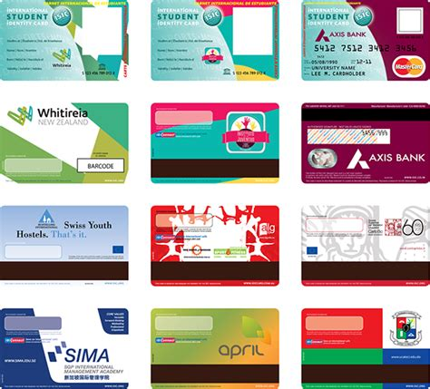 id card design ideas isic designs on behance