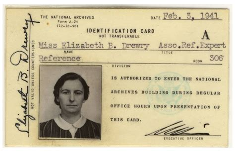 identification card ellis island template dr elizabeth b drewry a leading pieces of history