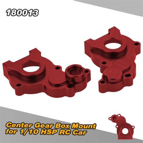 Hsp 18001 Front Gearbox Shell For Hsp Crawler Pangolin 110 180013 modified parts center gear box mount shell only for 1 10 hsp 94180 road crawler