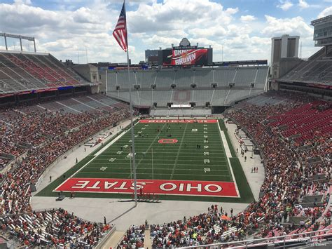 Ohio Stadium Student Section by Ohio Stadium Section 1c Rateyourseats