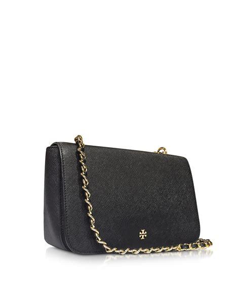 Burch Robinson Adjustable Shoulder Bag 1 burch robinson soft saffiano leather adjustable shoulder bag in black lyst
