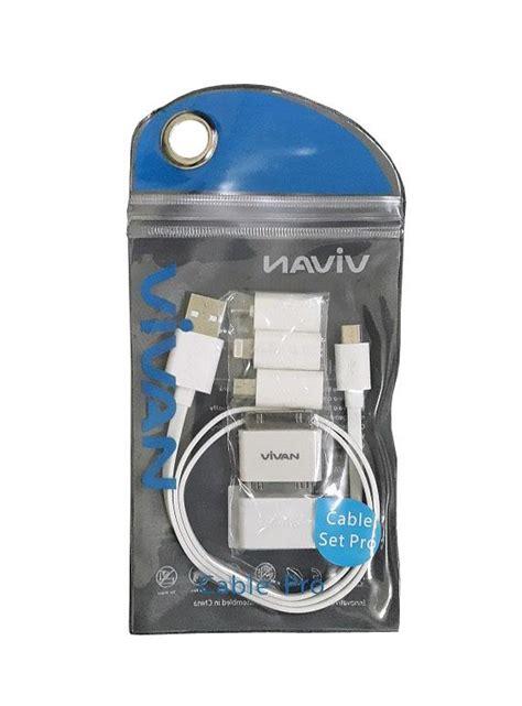 Vivan Cable Set Pro Konektor Micro Usb To Iphone 5ipadtabmini Usb digitalzone jual vivan cable usb set pro putih di jakarta