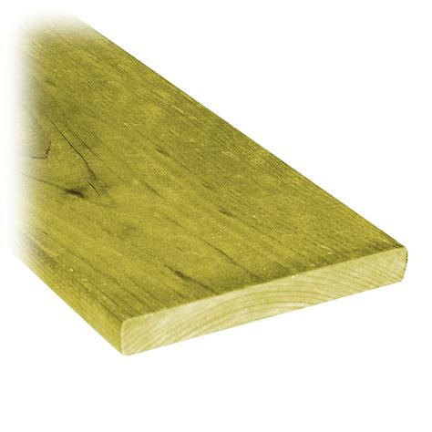 proguard 1x6x6 treated wood fence board the home depot