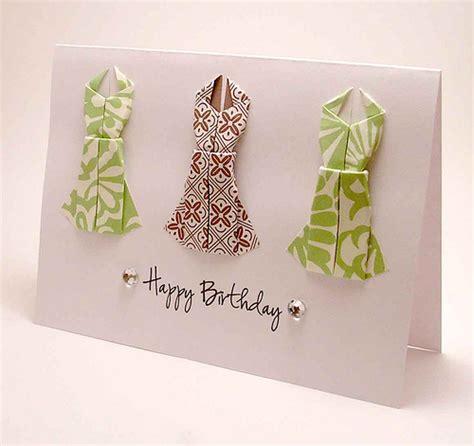 Origami Birthday Card - origami dress birthday card flickr photo