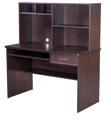 Buy Nile Computer Table in Chocolate Finish by Royal Oak