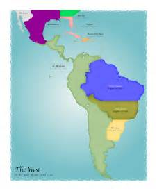 america map pictures alternate history tcoc map of southern america 1500