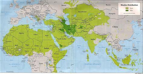 world map showing rivers muslim world geography of the muslim world
