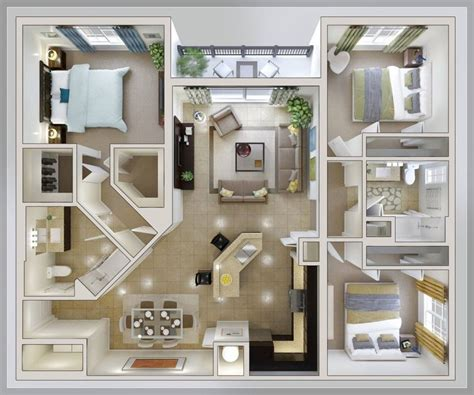 35 best self build house images on pinterest build house small one floor house plans sq ft luxury small 3 bedroom 15