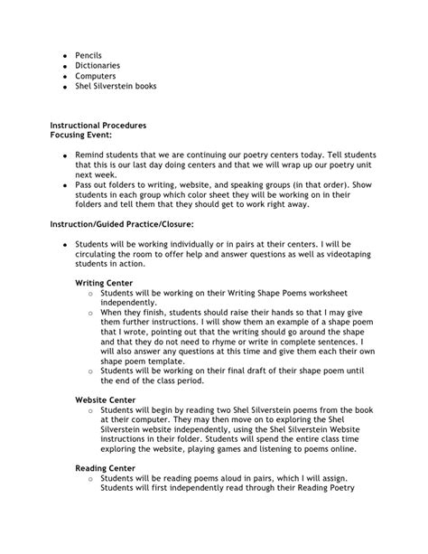 biography lesson plans for 5th grade printable poetry for third grade just 4 teachers sharing