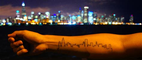 chicago skyline tattoos chicago skyline