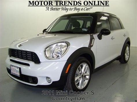 used 2011 mini cooper countryman s manual turbo stock 61347 chapman automotive group find used s turbo navigation htd seats dual roof hk sound 2011 mini cooper countryman 27k in