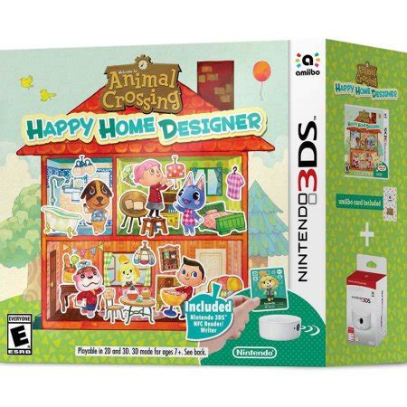 animal crossing happy home design reviews animal crossing happy home designer bundle nintendo