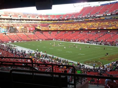 fedex field section 215 fedexfield section 215 rateyourseats com