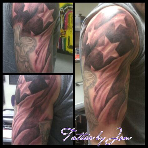 black and grey flag tattoo grey flags and american flag on pinterest