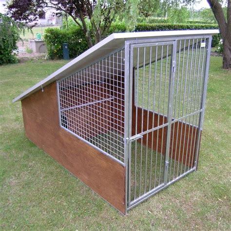 pedana per cani box per cani tetto coperto modello collie cani taglia media