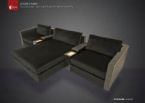 Home Theater Sectional Sofa Media Room And Home Theater Sectional Sofa By Cineak Sectional Sofas Other Metro By Cineak