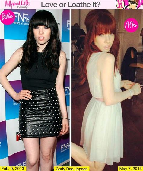 carly red 15 best hair makeover before and after images on pinterest