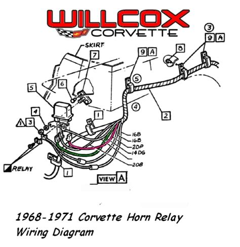 1969 camaro horn relay wiring diagram 37 wiring diagram