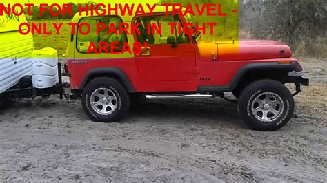 jeep wrangler unlimited towing travel trailer towing a travel trailer with a jeep