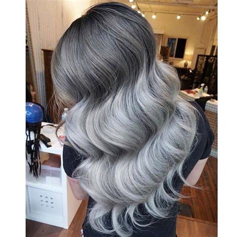 painting lowlights on gray hair 317 best images about silver hair inspo on pinterest