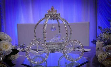 Disney inspired Cinderella Carriage Cake Topper